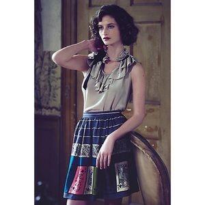 Edme & Esyllte Anthropologie Pinochle Skirt 4